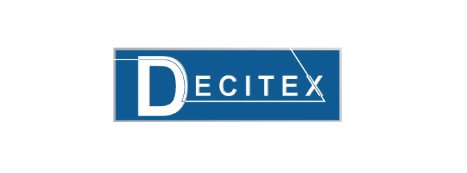 First logo of Decitex in 2000